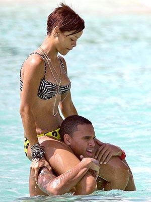 Brown video and sex cris Rihanna